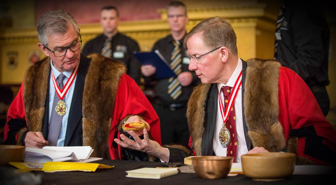 The Opening of the Trial of the Pyx, 2016