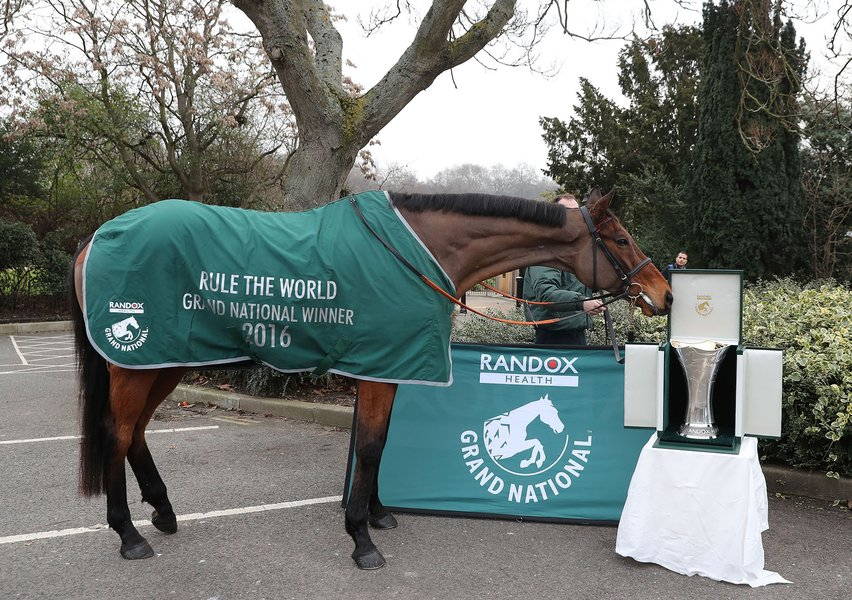 Rule The World with the 2017 Randox Health Grand National Trophy