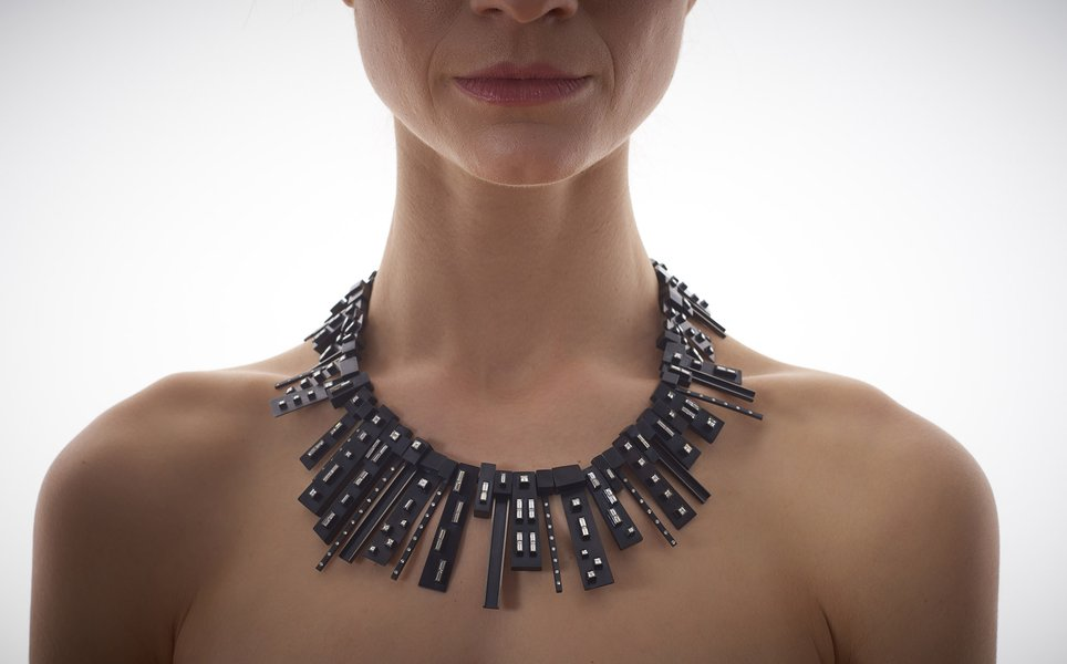 The Ambassador Diamond Necklace by Daphne Krinos. Photography by Sylvain Deleu