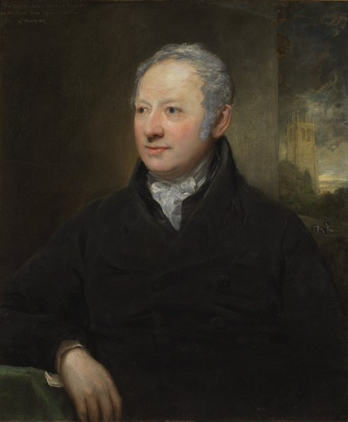 Portrait of John Bridge (1755-1834) of Georgian goldsmiths' firm Rundell & Bridge, by John Jackson RA (1778-1831).