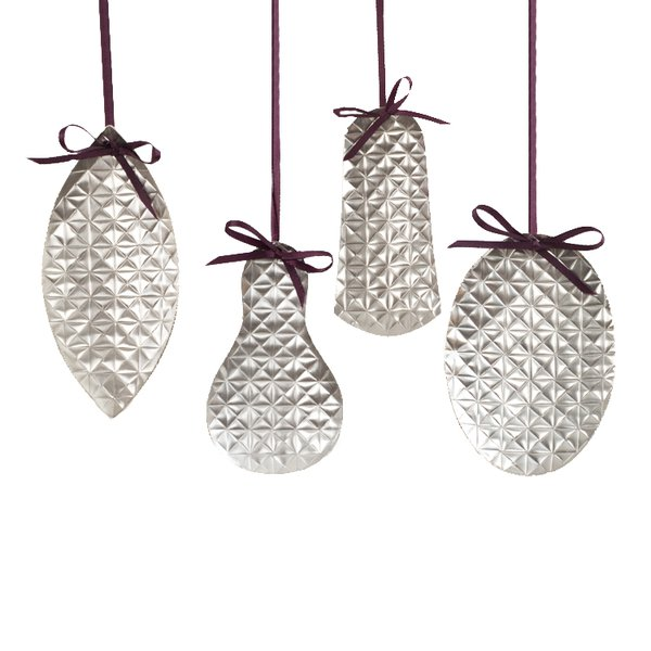 rebecca de quin - Silver Christmas Decorations Uk