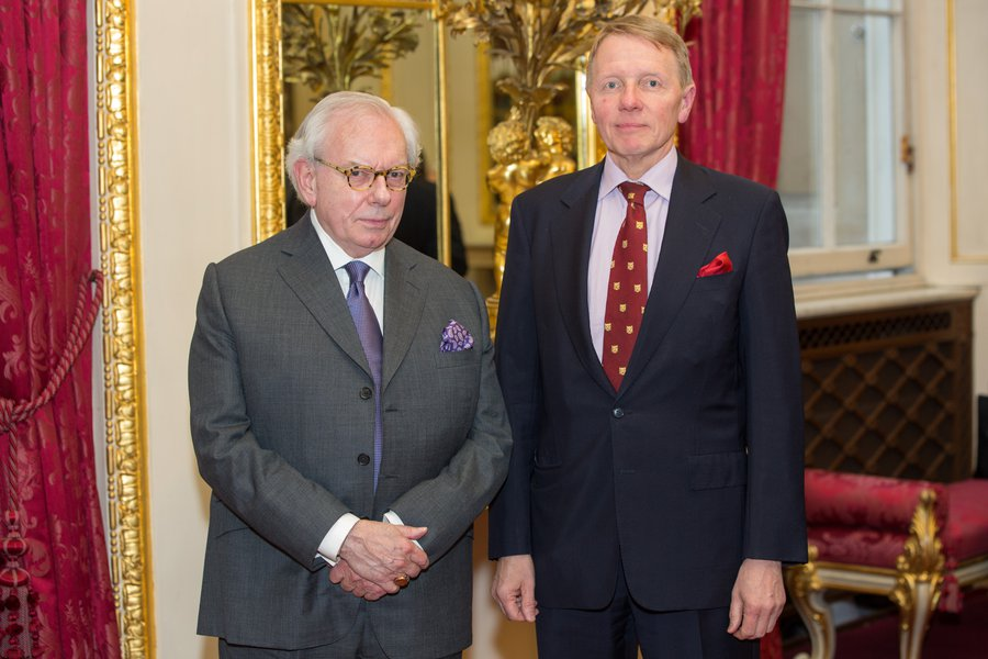 David Starkey and Mr Timothy Schroder