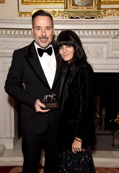 David Furnish and Claudia Winkleman. Courtesy of Dave Benett