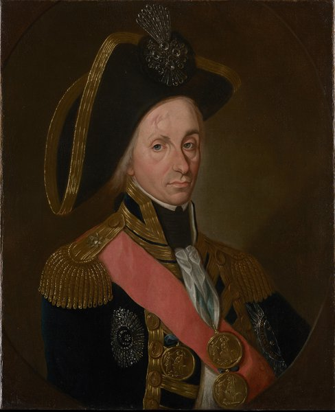 Guzzardi Tondo Portrait of Horatio Nelson