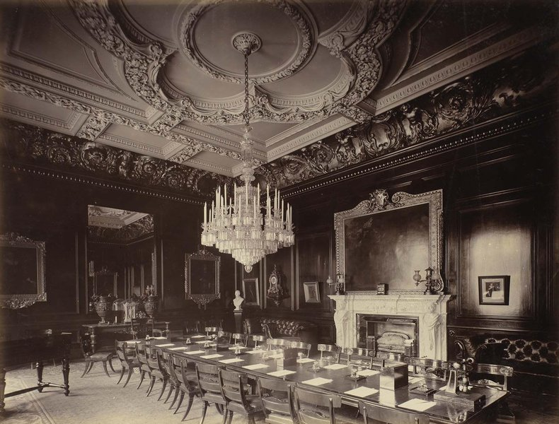 Court Room, photographed in 1895