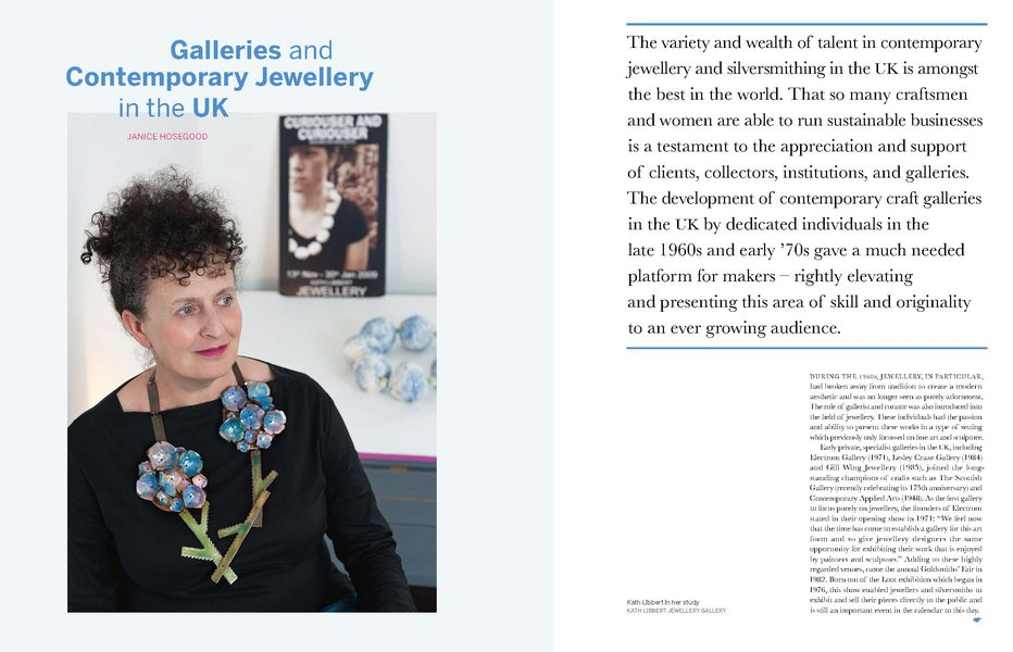 Galleries and Contemporary Jewellery in the UK