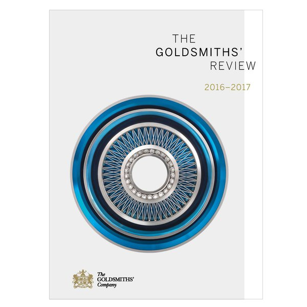 Cover featuring brooch by Tom Rucker, awarded the Goldsmiths' Company Award at the Goldsmiths' Craft and Design Council Awards 2017.