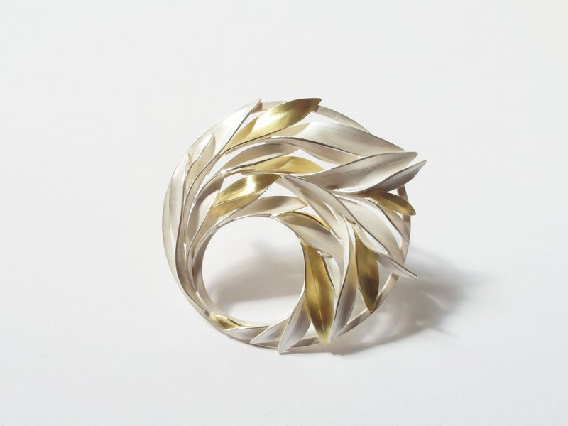 Annemarie Reinhold, 'July' Brooch