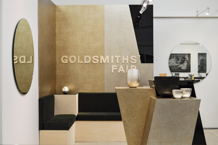 Goldsmiths' Fair Stand at Collect