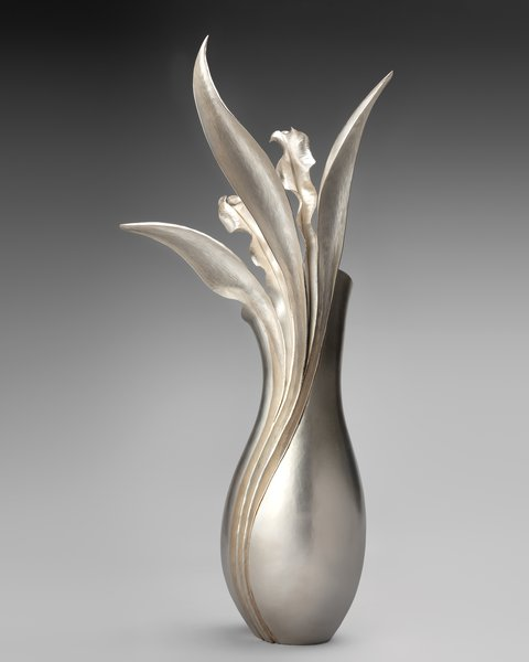 Persephone Vase by Rauni Higson, 2012. The Goldsmiths' Company Collection