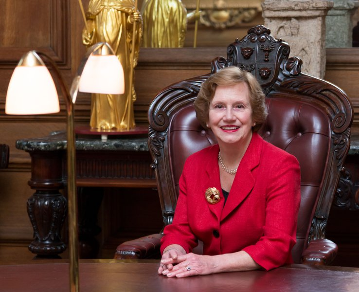 The Goldsmiths' Company elected its first female Prime Warden, Judith Cobham-Lowe in 2017.