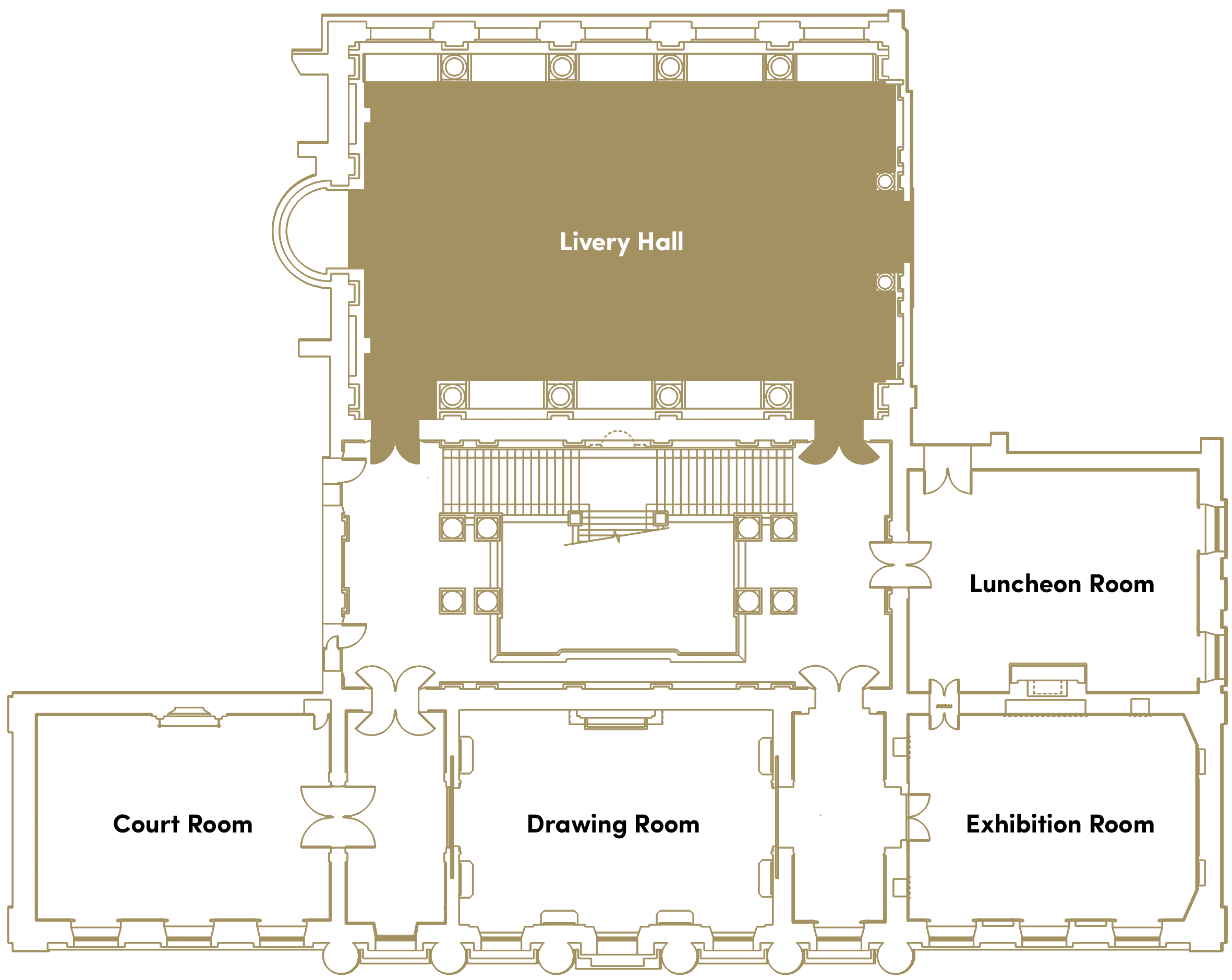 Venue Hire - The Goldsmiths' Company on old victorian house floor plans, 19th century mansion floor plans, 18 century victorian house plans,